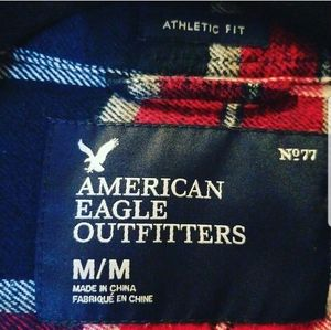 American Eagle Outfitters Tops - Seriously Soft AEO Long Sleeve FlannelShirt